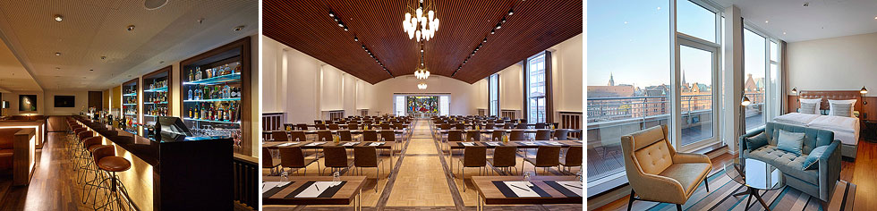 Die geschmackvolle Ausstattung in Kombination mit der äußerst reizvollen Umgebung der Speicherstadt macht das Tagungshotel zu einem besonderen Ort für Tagungen und Incentives.
