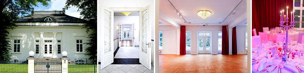 Klassizistische Villa an der Hamburger Alster