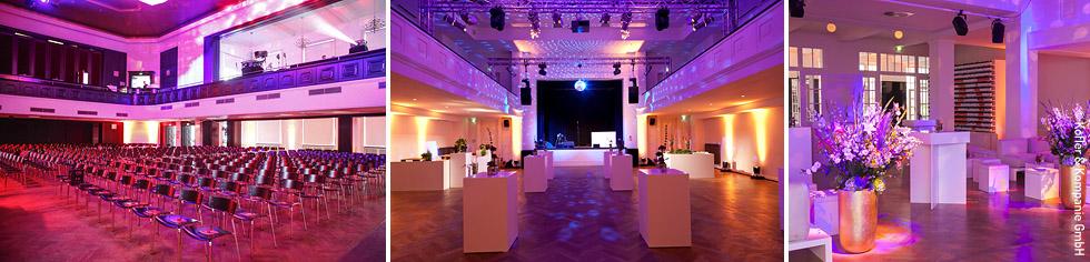 Eventlocation mit großem Ballsaal