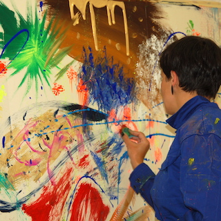 Action-Painting