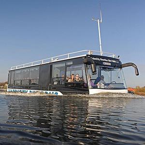 amphibische Stadtkreuzfahrt